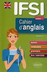 Souvent acheté avec L'Anglais en IFSI, le Cahier d'anglais IFSI - Niveau 3 : avancé