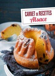 Nouvelle édition Carnet de recettes d'Alsace