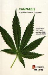 Dernières parutions sur Toxicomanie, Cannabis