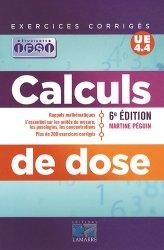 Souvent acheté avec Ross et Wilson Anatomie et physiologie normales et pathologiques, le Calculs de dose UE 4.4