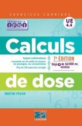 Souvent acheté avec Aider les proches aidants, le Calculs de dose UE 4.4