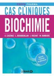 Dernières parutions dans Prépa-Pharma, Cas cliniques en Biochimie