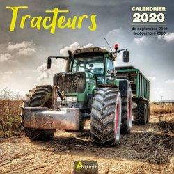 Nouvelle édition Calendrier Tracteurs 2020