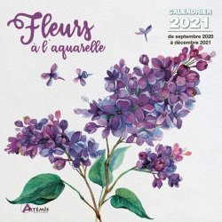 Dernières parutions sur Herbiers - Agendas - Calendriers - Almanachs, Calendrier Fleurs à l'aquarelle
