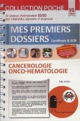 Dernières parutions dans Mes premiers dossiers poche, Cancérologie Onco-hématologie