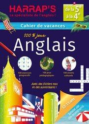 Nouvelle édition CAHIER VACANCES ANGLAIS DE 5E A 4E