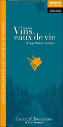 Dernières parutions dans Carte pliée, Carte de France des Vins et Eaux-de-Vie d'Appellation d'Origine