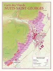 Dernières parutions dans carte des vins, Carte des Vins de Nuits-Saint-Georges