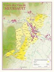 Dernières parutions dans carte des vins, Carte des Vins de Meursault