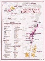 Dernières parutions dans carte des vins, Carte des Vins de Bourgogne