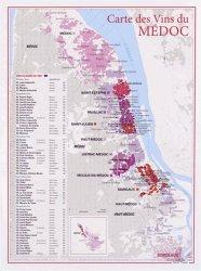 Dernières parutions dans carte des vins, Carte des Vins du Médoc