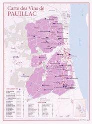 Dernières parutions dans carte des vins, Carte des Vins de Pauillac