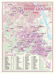 Dernières parutions dans carte des vins, Carte des Vins de Pessac-Léognan (Graves)