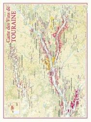 Dernières parutions dans carte des vins, Carte des Vins de Touraine