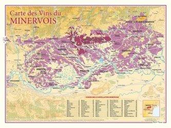 Dernières parutions sur Cartes, Carte des Vins du Minervois