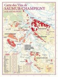 Dernières parutions dans carte des vins, Carte des Vins de Saumur-Champigny et du Saumurois