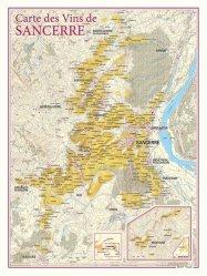 Dernières parutions dans carte des vins, Carte des Vins de Sancerre