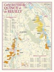 Dernières parutions sur Cartes, Carte des Vins de Quincy et de Reuilly