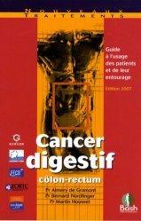 Dernières parutions sur Cancers hépato-gastroentérologiques, Cancer digestif côlon-rectum