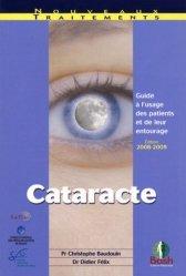 Dernières parutions dans Nouveaux traitements, Cataracte