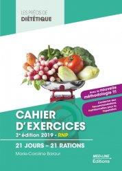 Dernières parutions sur Diététique - Nutrition, Cahier d'exercices BTS Diététique