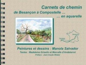 Dernières parutions sur Aquarelle, Carnet de chemin de Besançon à Compostelle en aquarelle