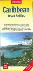 Dernières parutions sur Caraibes et Antilles, Caraïbes, petites Antilles. 1/2 500 000, Edition français-anglais-allemand