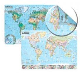Dernières parutions sur Cartes monde, Carte du Monde : politique et physique