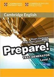 Dernières parutions dans Cambridge English Prepare!, Cambridge English Prepare! Test Generator Level 1 - CD-ROM
