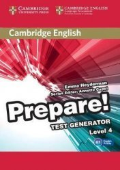 Dernières parutions dans Cambridge English Prepare!, Cambridge English Prepare! Test Generator Level 4 - CD-ROM