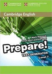 Dernières parutions dans Cambridge English Prepare!, Cambridge English Prepare! Test Generator Level 7 - CD-ROM
