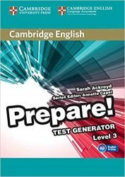 Dernières parutions dans Cambridge English Prepare!, Cambridge English Prepare! Test Generator Level 3 - CD-ROM
