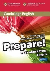 Dernières parutions dans Cambridge English Prepare!, Cambridge English Prepare! Test Generator Level 5 - CD-ROM