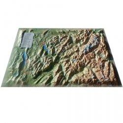 Dernières parutions sur Cartes et guides géologiques, Carte en relief du Mont Blanc et sa région