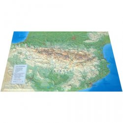 Dernières parutions sur Cartographie, Carte en relief des Pyrénées - 1/800 000