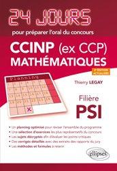 Dernières parutions sur Concours maths, CCINP (ex CCP) Mathématiques  filière PSI