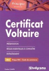 Dernières parutions dans Principes, Certificat Voltaire