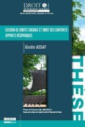 Dernières parutions dans Faculté de Droit et des Sciences sociales, Cession de droits sociaux et droit des contrats : apports réciproques