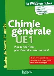 Souvent acheté avec Santé Société Humanité  UE7, le Chimie générale UE1