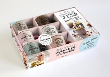 Dernières parutions dans Coffrets Cuisine, Chantilly, guimauve et chocolat