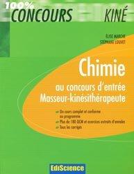 Souvent acheté avec Physique au concours d'entrée Masseur-kinésithérapie, le Chimie au concours d'entrée Masseur-kinésithérapie