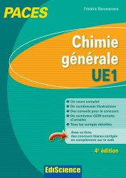 Souvent acheté avec Biologie moléculaire - UE1, le Chimie générale UE1