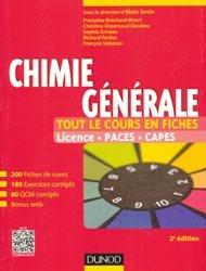 Dernières parutions sur Chimie générale, Chimie générale - Tout le cours en fiches