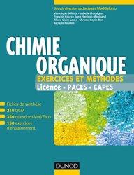 Dernières parutions sur Chimie organique, Chimie organique - Exercices et méthodes