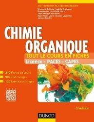 Dernières parutions sur Chimie organique, Chimie organique chimie organique, chimie générale, biochimie,