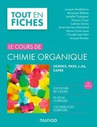 Dernières parutions dans Tout en fiches, Chimie organique - 3e éd