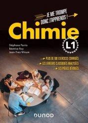 Souvent acheté avec Physique - 1350 cm3 d'exercices corrigés pour la Licence 1, le Chimie L1 : Je me trompe, donc j'apprends !