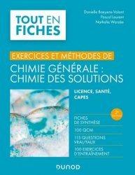 Souvent acheté avec Bioinformatique, le Exercice et méthodes de Chimie générale : Chimie des solutions