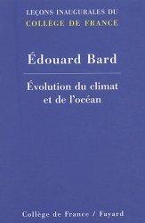 Dernières parutions dans Leçons inaugurales, Chaire d'évolution du climat et de l'océan