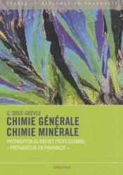 Souvent acheté avec Accouchement, le Chimie générale Chimie minérale